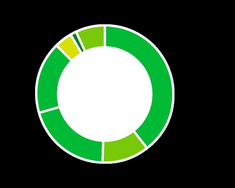 従業員比率  メンバー39.7%(58名) リーダー11%(16名) マネージャー19.9%(29名) 上級マネージャー17.1%(25名) 部長4.1%(6名) 執行役員1.4%(2名) 役員6.3%(10名) 2020年10月時点